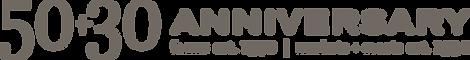 50+30 Anniversaary Logo