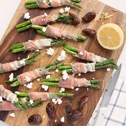 Prosciutto, Goat Cheese & Fig Wrappe