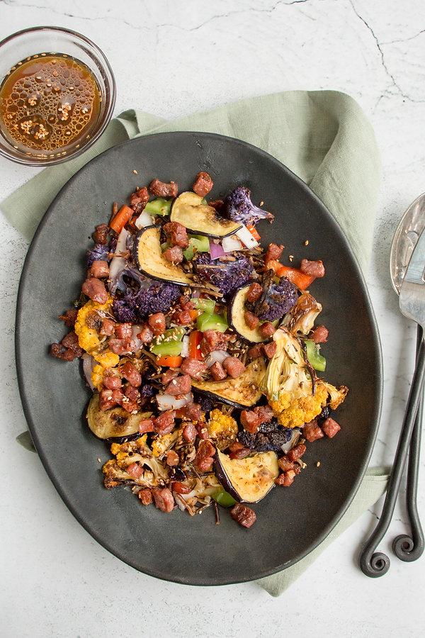 Prosciutto and Wild Rice Salad