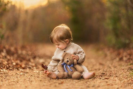 Little boy during first birthday photos in Dallas Texas