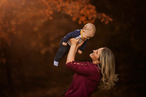 Fall Family photo session at Lake Grapevine