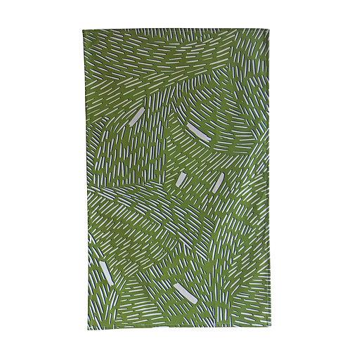 Bijoux Collection - Green Rain Tea towel