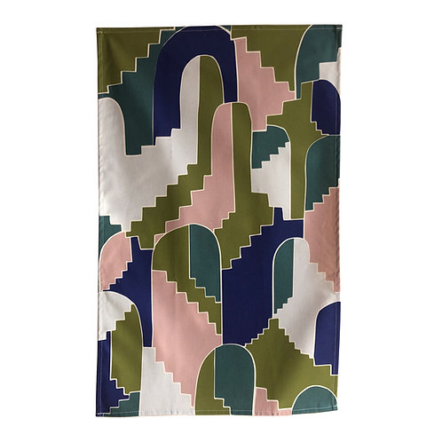 Bijoux Collection - Stairs and Arches Tea towel
