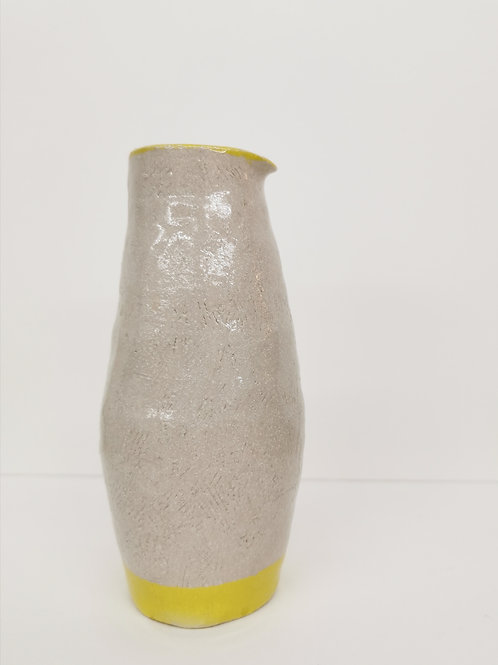 Large Hand Built Ceramic Jug