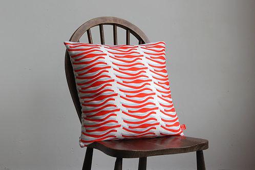 Cushion Lustre Design Tomato