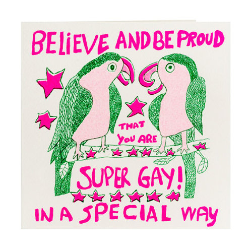 Believe And Be Proud Card