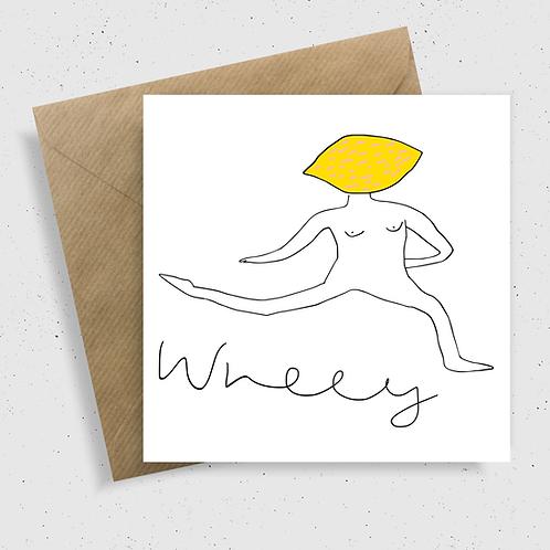 Wheey Card