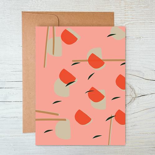 Sushi & Chopsticks A6 Blank Card