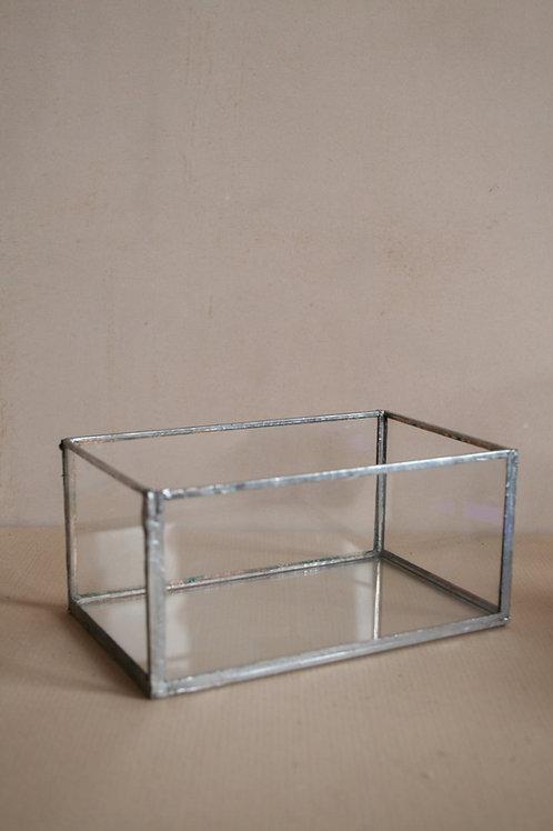 Clear Glass Trinket Box
