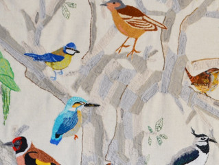 Birds Mingle Muster and Meet