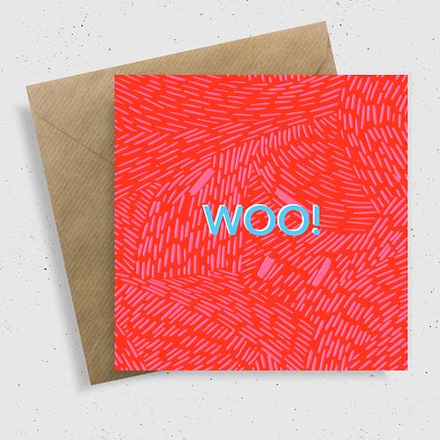 WOO! Card