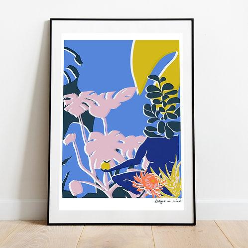 A3 Print -  Forbidden Fruit, Eden Collection