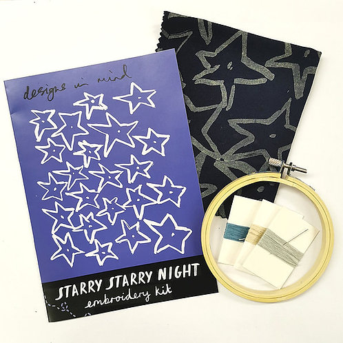 Starry Starry Night Embroidery Kit