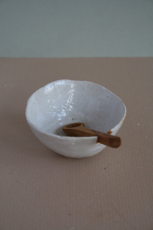 Small Pot with Spoon