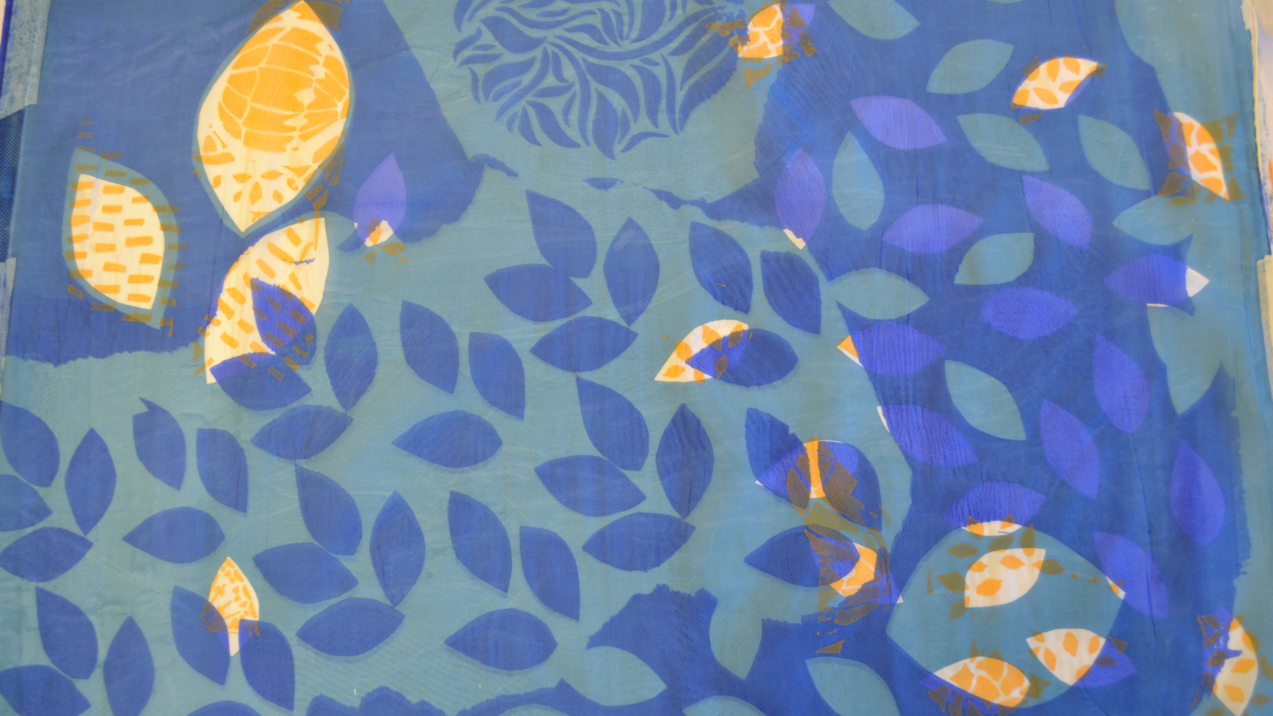 Silk Screen Printing for Lampshades