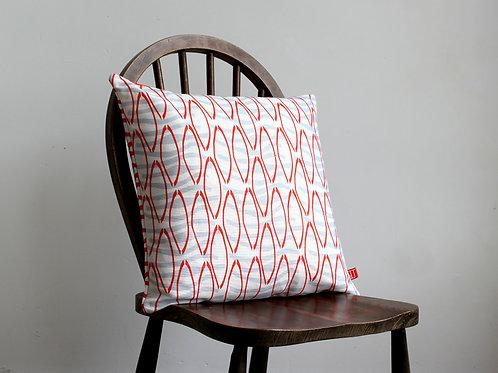 Cushion Reflection Design Tomato
