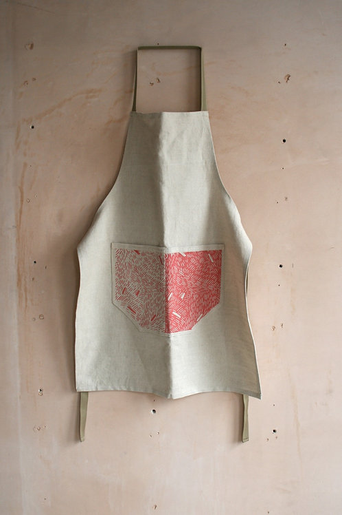 Screen Printed Apron