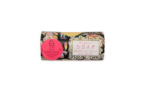 Rasberry , Quince and Vanilla Organic Soap