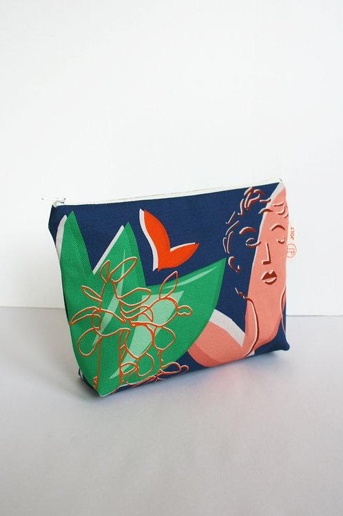 Blue Eden Make up Bag