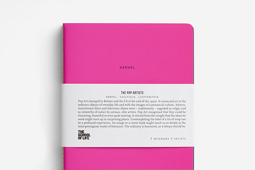 School of Art notebooks
