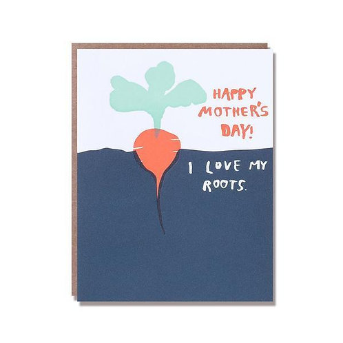 I Love my Roots - Greetings Card