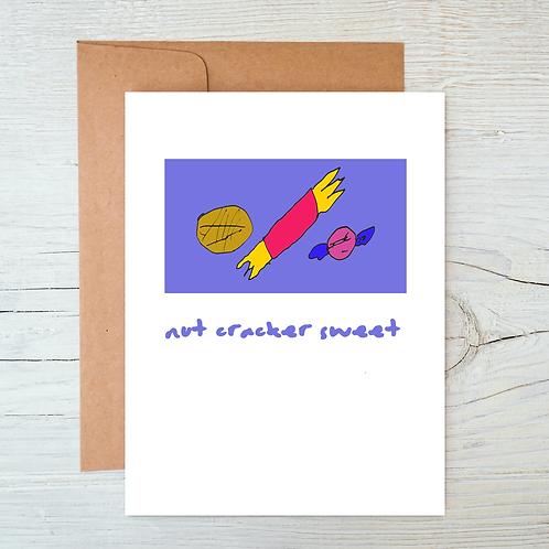 Nut Cracker Sweet card