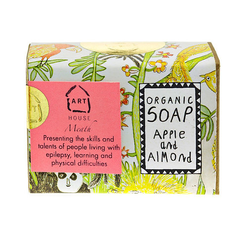 Apple and Almond Organic Soap