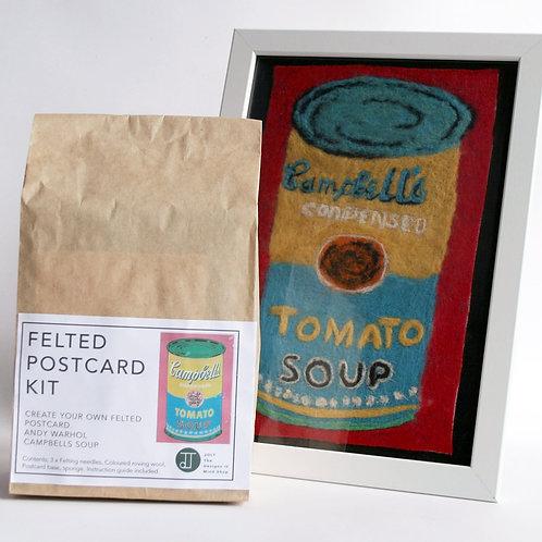 Warhol Needle Felting Kit