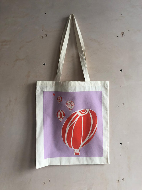 Balloon Carnival Tote Bag