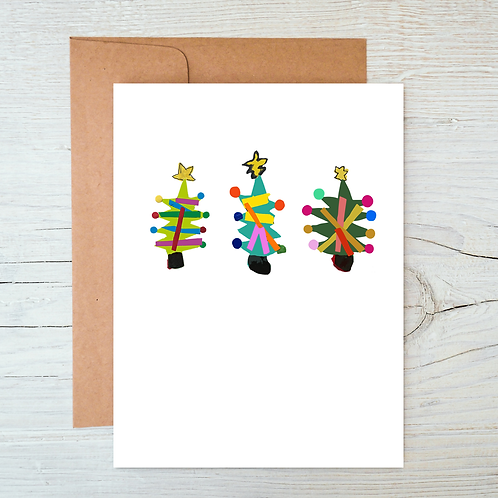 ChristmasTrees Card