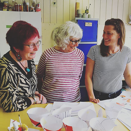 Volunteering at Designs in Mind