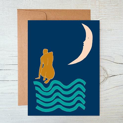 Moonlight A6 Blank Card