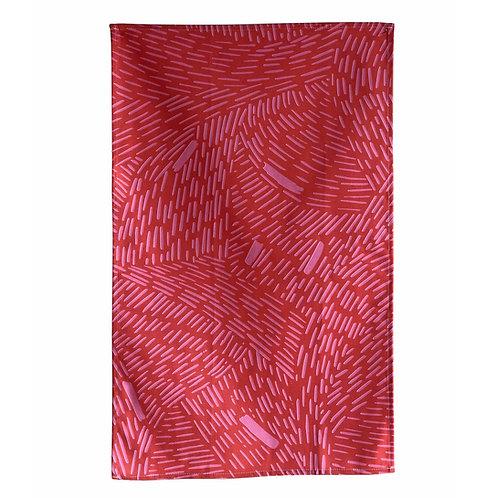 Bijoux Collection - Pink Rain Tea towel