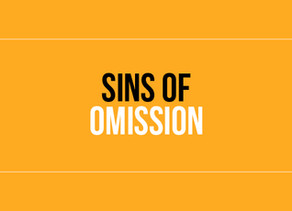 The Sin Of Omission #4