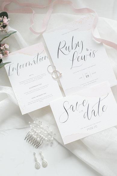 wedding photographer north devon invitations