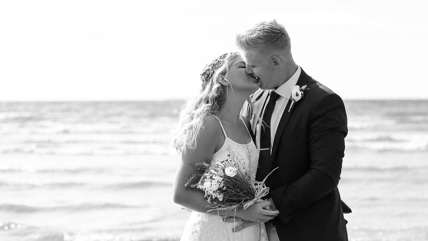 wedding photographer westward ho devon