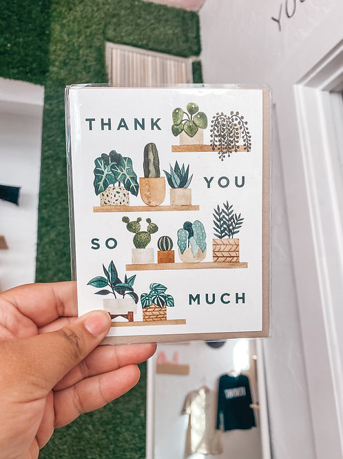 Thank You Plant Shelf GC