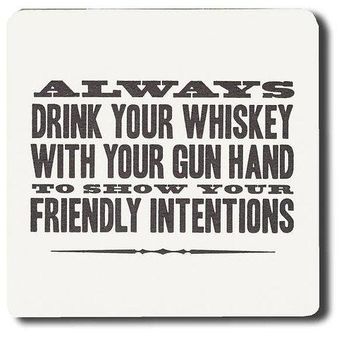 Gun Hand Coasters