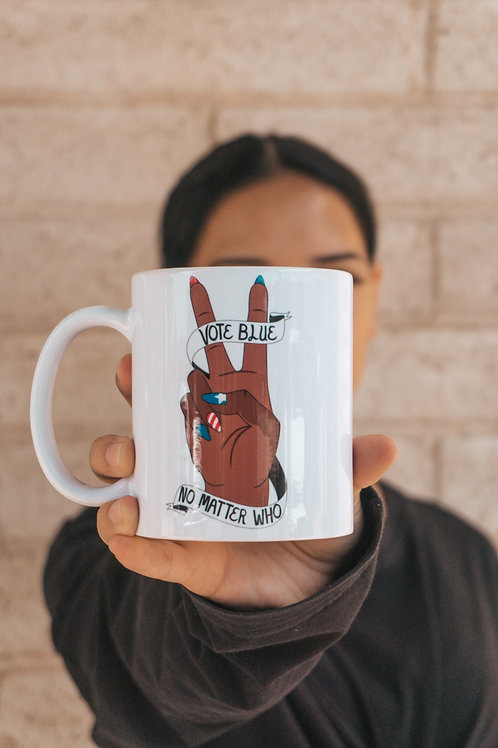 Vote Blue Mug