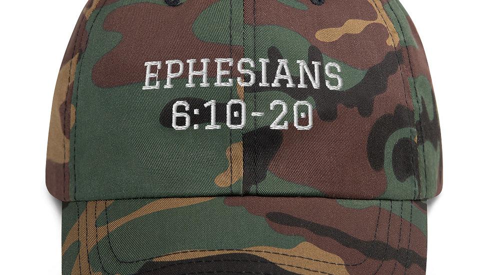 Ephesians 6:10-20 Dad hat