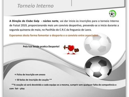 Futsal  - Torneio Interno 2019