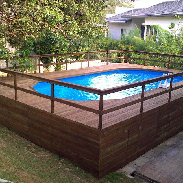 Liner Pool, Above Ground