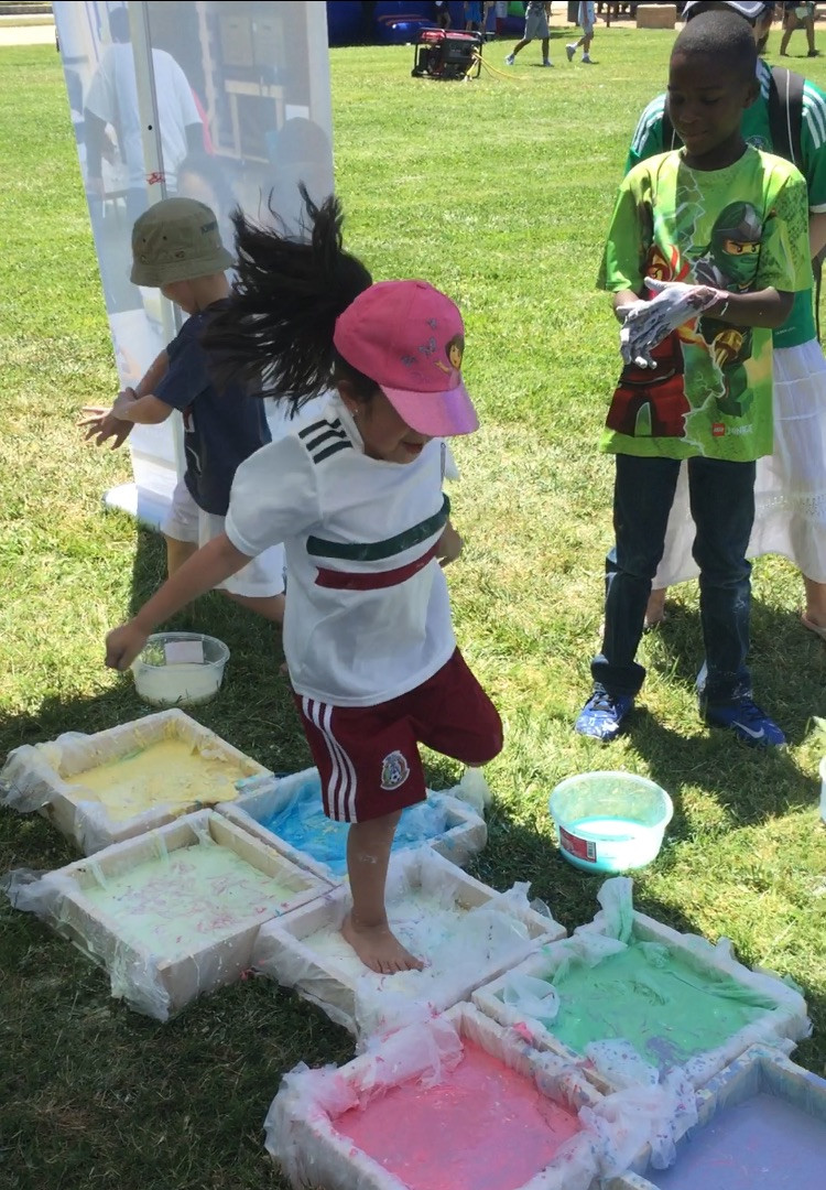 OOBLECK HOPSCOTCH ANYONE?