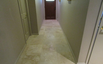 Hallway Tile and Stone