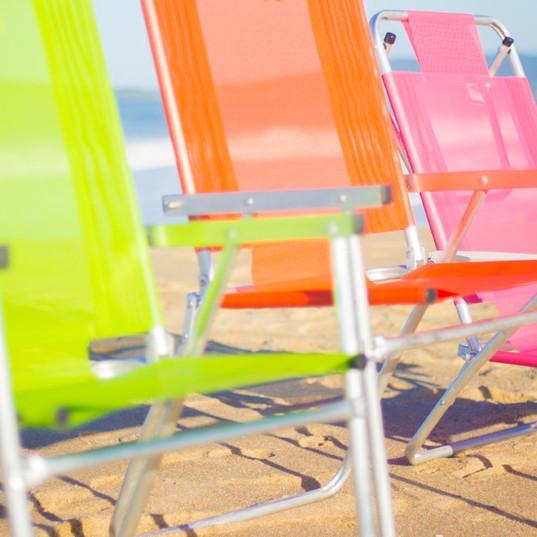 Cadeiras 100% anti-ferrugem