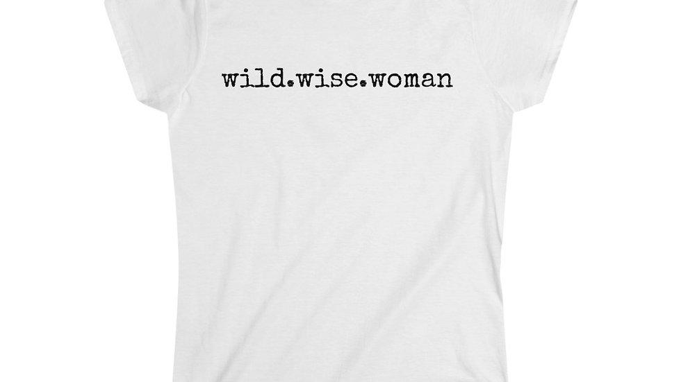wild.wise.woman [Women's Tee]