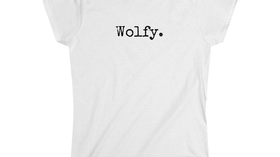 Wolfy. [Women's Tee]