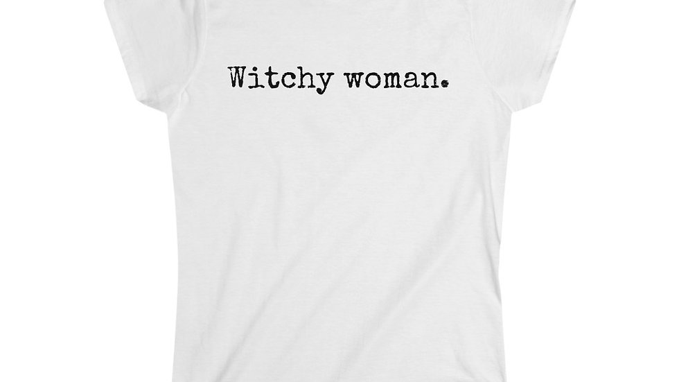 Witchy woman. [Women's Tee]