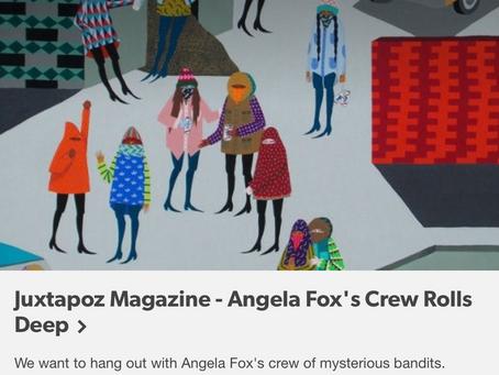 Juxtapoz online feature