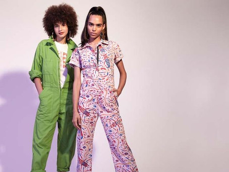 Scorpion jumpsuit collaboration with Nooworks featured in Bust Magazine!!!